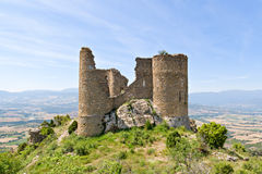 Medieval castle of Orcau, Catalonia Royalty Free Stock Photos