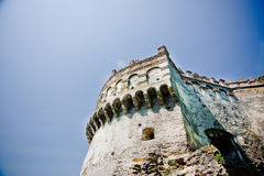 Medieval castle in Ostrog Royalty Free Stock Photo