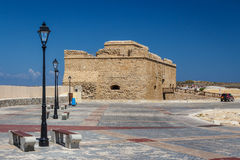 Medieval castle of Paphos Stock Photography