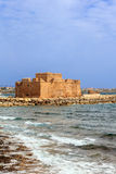 Medieval Castle in Paphos, Cyprus. Stock Images