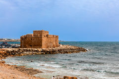 Medieval Castle in Paphos, Cyprus. Stock Photo