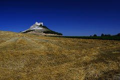 Medieval castle Penafiel Royalty Free Stock Images