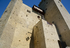 Medieval castle of Phoebus in Mauvezin Royalty Free Stock Photography