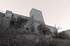 Medieval castle photo Stock Images
