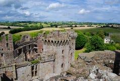 Medieval_castle_pms Fotografía de archivo