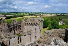 Medieval_castle_pms Stock Photography