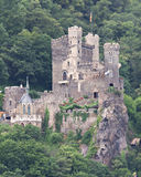 Medieval Castle Rheinstein Royalty Free Stock Images