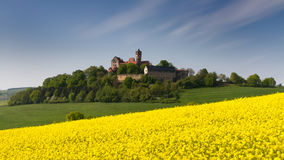 Medieval Castle Ronneburg Stock Photos