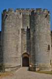 Medieval castle of Roquetaillade in Gironde Royalty Free Stock Photography