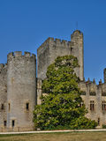 Medieval castle of Roquetaillade in Gironde Royalty Free Stock Image