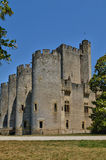 Medieval castle of Roquetaillade in Gironde Stock Image