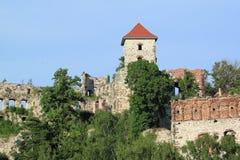 Medieval castle ruin Royalty Free Stock Photos