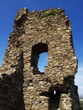 Medieval castle ruin Royalty Free Stock Images