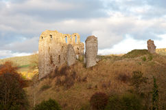 Medieval castle ruin Royalty Free Stock Photography