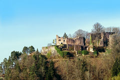 Medieval castle ruin Hohenschramberg in Germany Royalty Free Stock Photography