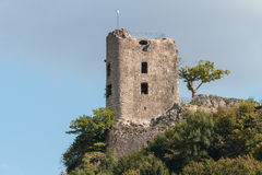 Medieval Castle Ruin Neideck Royalty Free Stock Photo