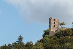 Medieval Castle Ruin Neideck Royalty Free Stock Images