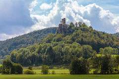 Medieval Castle Ruin Neideck Stock Images
