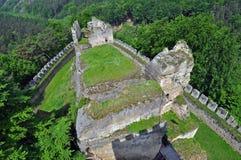 Medieval Castle Ruins Stock Photos