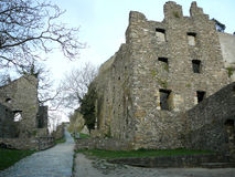 Medieval castle ruins. At Hohentwiel,Singen,Germany royalty free stock photography
