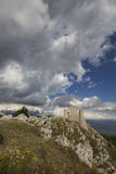Medieval castle ruins in Abruzzo Royalty Free Stock Photography