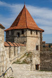 Medieval castle ruins in Bender, Transnistria Royalty Free Stock Photo