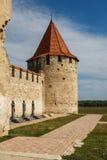 Medieval castle ruins in Bender, Transnistria Stock Photos