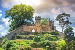Medieval castle ruins Royalty Free Stock Image