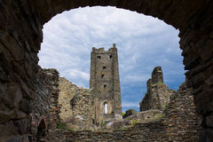 Medieval Castle Ruins Okor Royalty Free Stock Photo