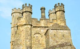Medieval castle. A rustic 10th century medieval castle Stock Image