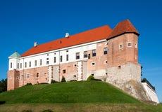 Medieval castle in Sandomierz, Poland Stock Photos