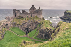 Medieval castle on the seaside, Ireland Royalty Free Stock Photos