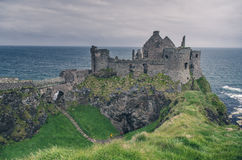 Medieval castle on the seaside, Ireland Royalty Free Stock Images