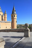 The medieval castle in Segovia Royalty Free Stock Image
