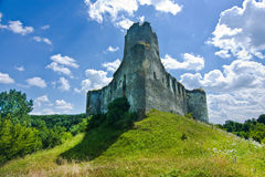 Medieval castle in Sidoriv Royalty Free Stock Photos
