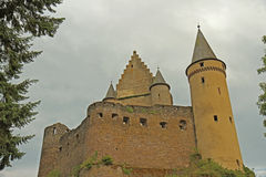 Medieval castle. Royalty Free Stock Photos