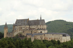 Medieval castle. Royalty Free Stock Images