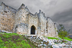 Medieval castle at south Europe Royalty Free Stock Photo