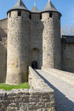 Medieval Castle in the South of France Royalty Free Stock Image