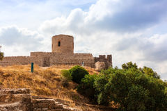Medieval castle in Southern Spain. Royalty Free Stock Photo