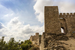 Medieval castle in Southern Spain. Royalty Free Stock Image
