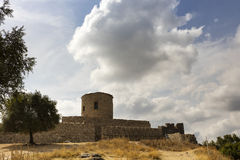 Medieval castle in Southern Spain. Stock Photo