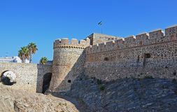 Medieval castle in Spain Royalty Free Stock Photo