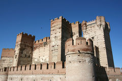 Medieval castle in Spain Stock Photography