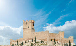 Medieval castle in Spain Royalty Free Stock Photos