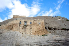 Medieval castle of Sperlinga, Sicily Royalty Free Stock Photography