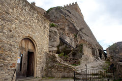 Medieval castle of Sperlinga, Sicily Stock Image