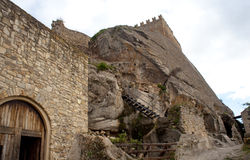 Medieval castle of Sperlinga, Sicily Stock Photography