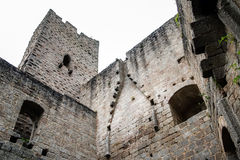 Medieval castle Spesbourg in Alsace Royalty Free Stock Image