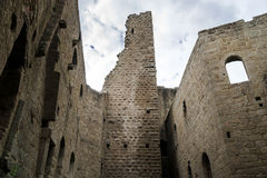 Medieval castle Spesbourg in Alsace Royalty Free Stock Photography